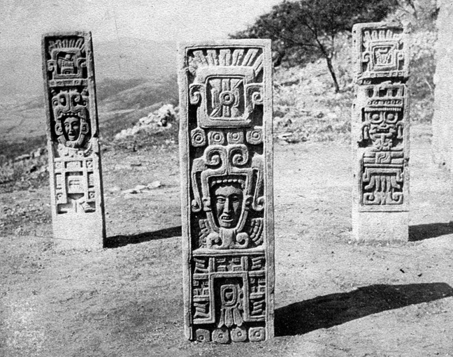 Xochicalco-ThreeStelae